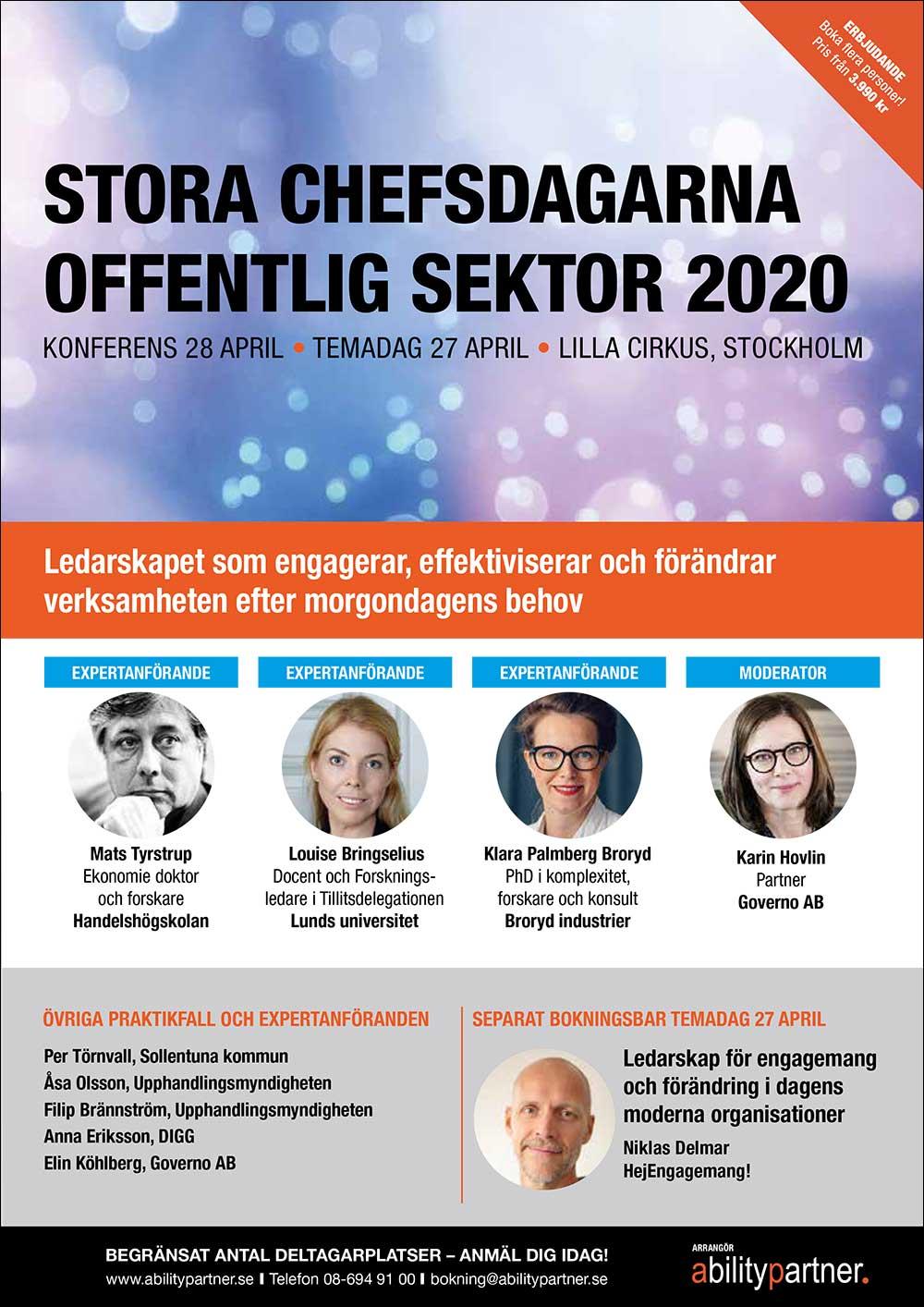Konferens 28 april